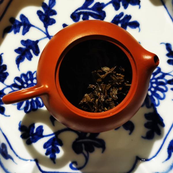 Hexagonal Porcelain Tea Tray