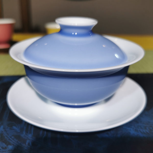 Light Blue Porcelain Gaiwan