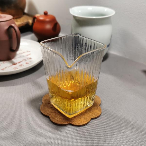 Square Glass Faircup