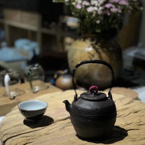 Clay Tea Boiling Pot