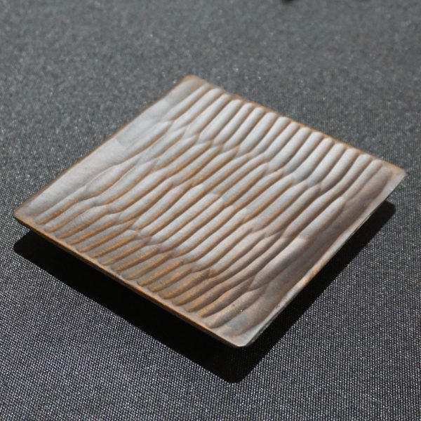 Dark Birch Wood Tea Coaster
